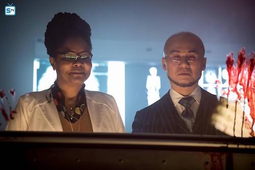 Tonya Pinkins BD Wong Azrael Gotham