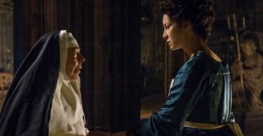 Caitriona Balfe Frances de la Tour Outlander Best Laid Schemes