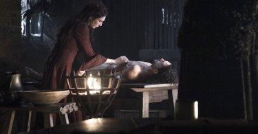 Carice van Houten Kit Harington Game of Thrones Home