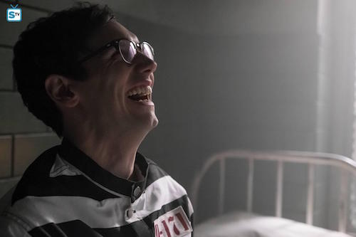 Cory Michael Smith Unleashed Gotham