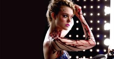 Elle Fanning Blood Makeup The Neon Demon