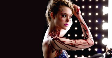 Elle Fanning Blood Makeup The Neon Demon