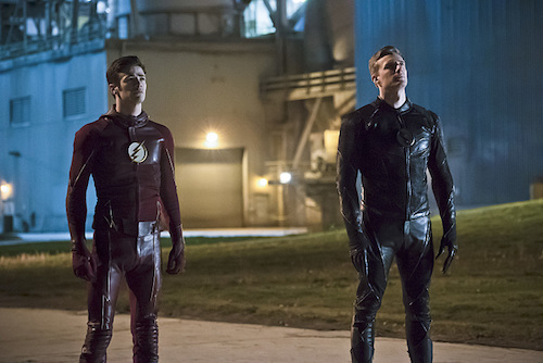 Grant Gustin Teddy Sears The Race of His Life The Flash