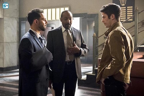 Patrick Sabongui Jesse L. Martin Grant Gustin Invincible The Flash
