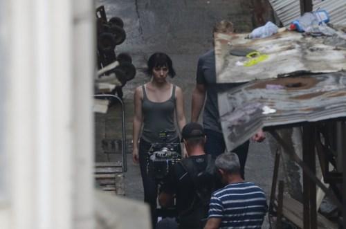 Scarlett Johansson Body Double Ghost in the Shell Set