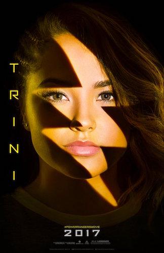 Becky G Trini Power Rangers Poster
