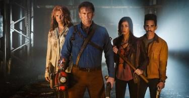 Bruce Campbell Ray Santiago Dana Delorenzo Lucy Lawless Ash vs Evil Dead Season 2