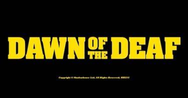 Dawn of the Deaf Logo
