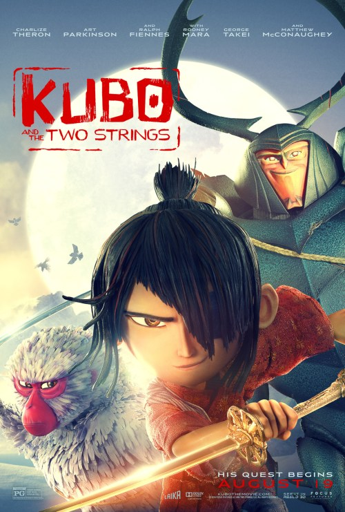 Kubo and the Two Strings Movie Poser