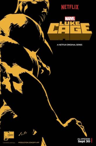 Luke Cage Concept Art Poster