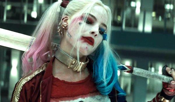 Margot Robbie Baseball Bat Elevator Suicide Squad