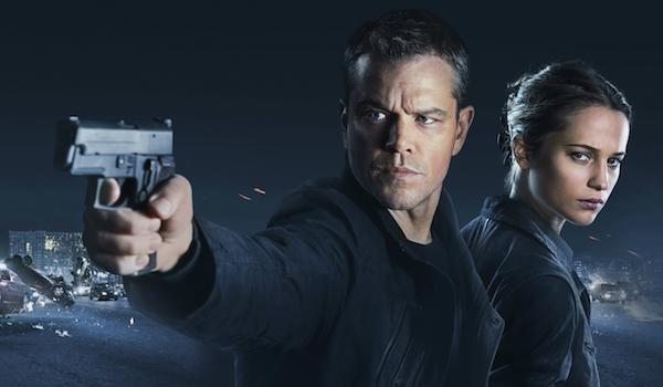 Matt Damon Alicia Vikander jason Bourne Movie Poster