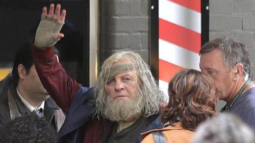 Anthony Hopkins Thor: Ragnarok Movie Set