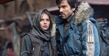 Felicity Jones Diego Luna Rogue One: A Star Wars Empire Magazine
