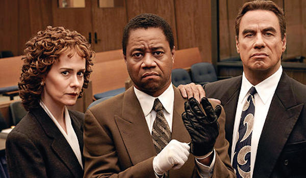 John Travolta Sarah Paulson Cuba Gooding Jr. The People v. O.J. Simpson: American Crime Story