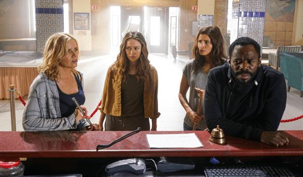 Kim Dickens Alycia Debnam-Carey Mercedes Mason Colman Domingo Fear the Walking Dead Los Muertos
