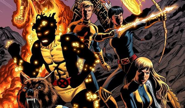 New Mutants Comic