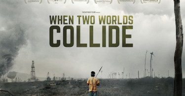 When Two Worlds Collide Gold Movie Poster