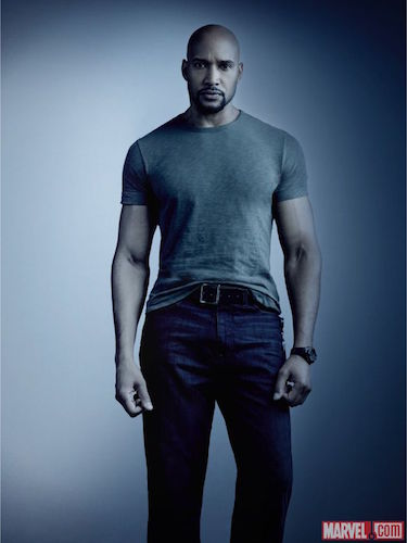 Henry Simmons Agents of SHIELD Season Four Photo