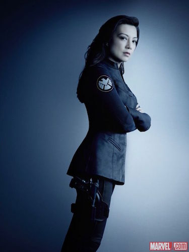 Ming-Na Wen Agents of SHIELD Season Four Photo