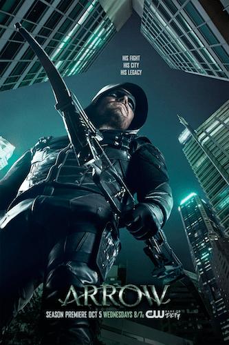 Arrow Season Five Poster
