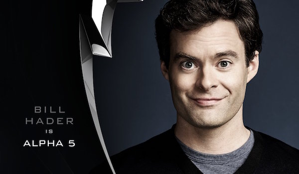 Bill Hader Alpha Five Power Rangers Announcement