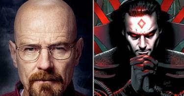Bryan Cranston Breaking Bad Mister Sinister X Men Comic