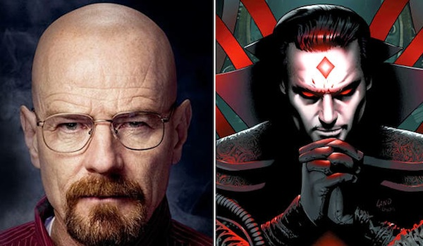 Bryan Cranston Breaking Bad Mister Sinister X Men Comic