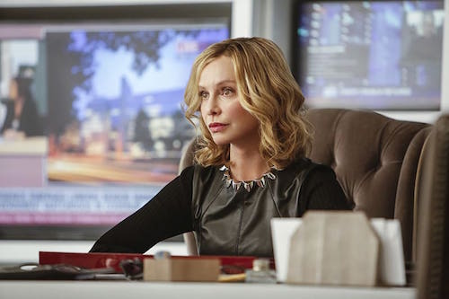 Calista Flockhart Supergirl Season Two