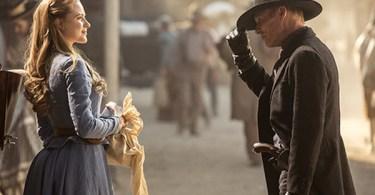 Ed Harris Evan Rachel Wood Westworld