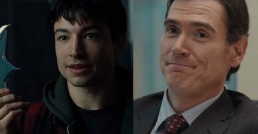 Ezra Miller Billy Crudup The Flash