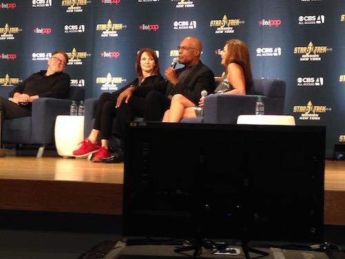 Gates McFadden Michael Dorn Marina Sirtis Star Trek: Mission Panel