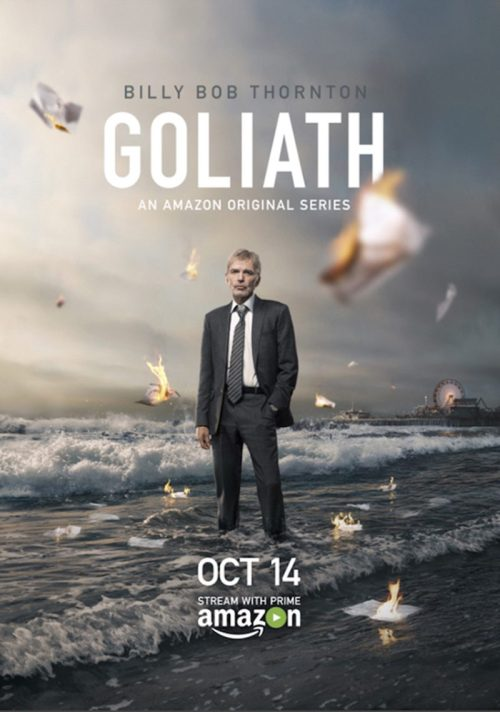 Goliath TV Show Poster