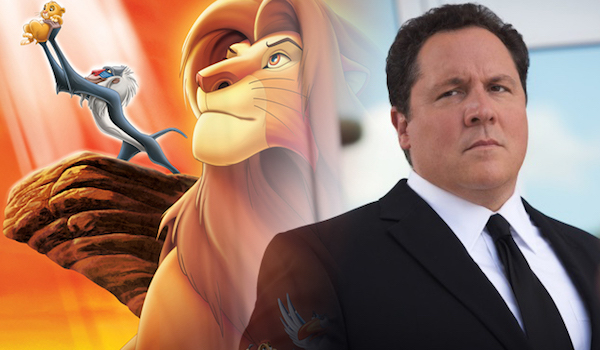 Jon Favreau The Lion King Split
