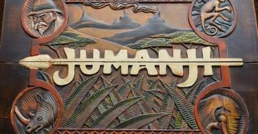 Jumanji Board Game Cover