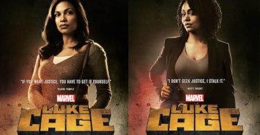 Luke Cage Rosario Dawson Simone Missick Posters