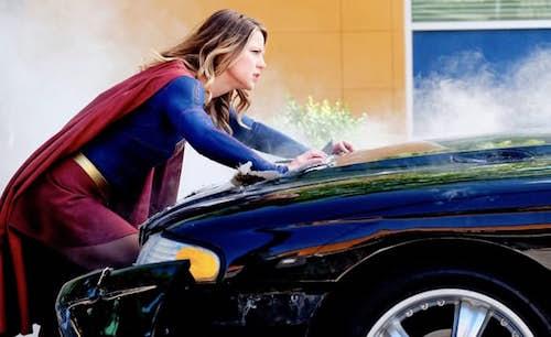 Melissa Benoist Supergirl Season Season Premiere