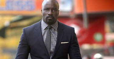Mike Colter Suit Tie Luke Cage