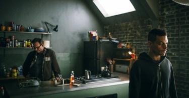 Rami Malek Christian Slater Mr Robot