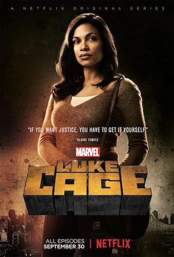 Rosario Dawson Luke Cage Poster