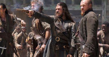 Toby Stephens Luke Arnold Black Sails Season 4