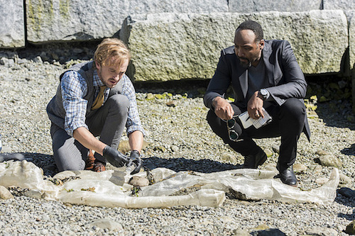 Tom Felton Jesse L. Martin The Paradox The Flash