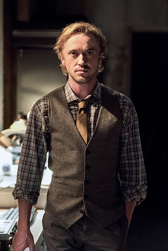 Tom Felton The Paradox The Flash