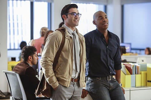 Tyler Hoechlin Mehcad Brooks Supergirl Season Two