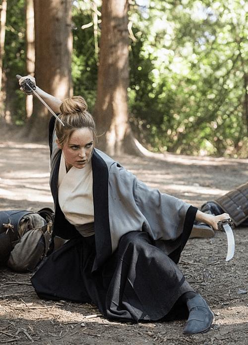 Caity Lotz Legends of Tomorrow Shogun