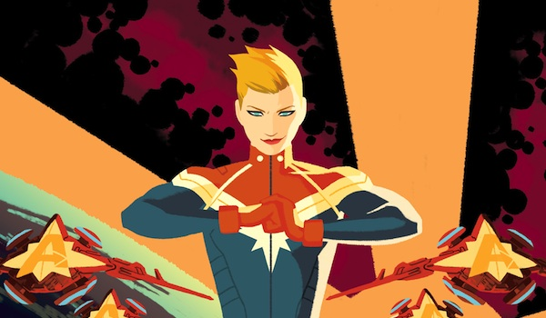 Captain Marvel Comic Book