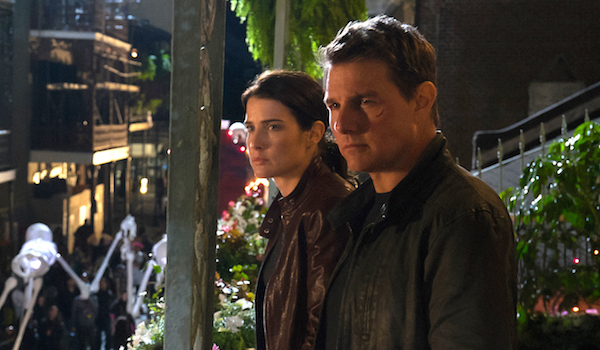 Cobie Smulders Tom Cruise Jack Reacher Never Go Back