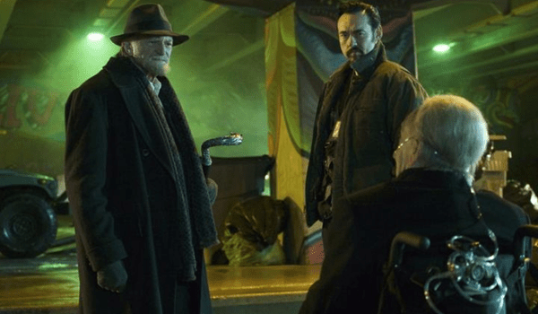 David Bradley Kevin Durand Jonathan Hyde The Strain Collaborators