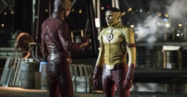 Grant Gustin Keiynon Lonsdale Flashpoint The Flash