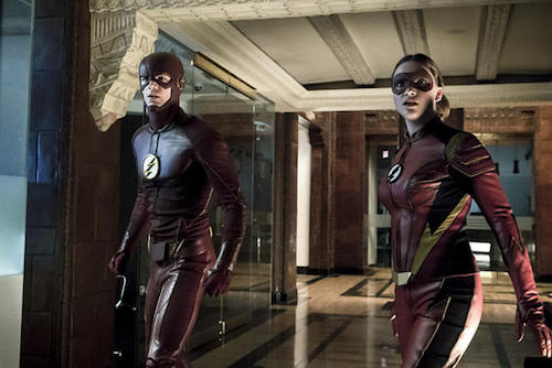 Grant Gustin Violett Beane The New Rogues The Flash